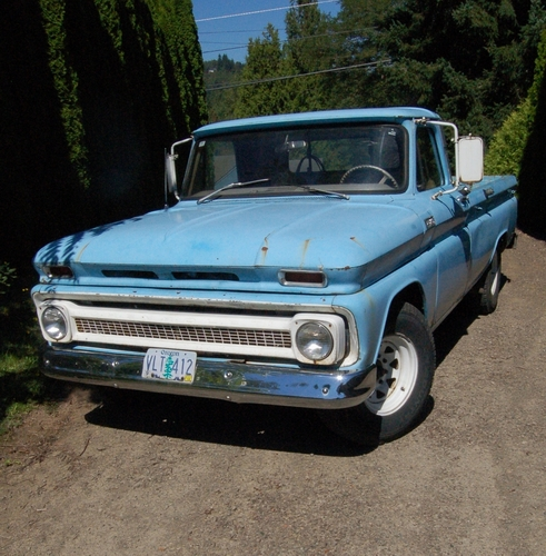 Small Ford Truck: 1965 Chevy 3/4 Ton Pickup