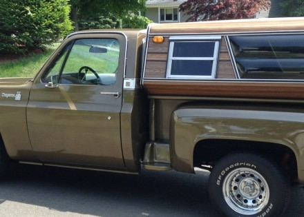 1976 Chevy C10 Cheyenne Step Side