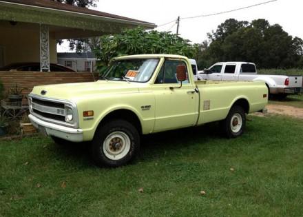 1970 Chevy C-20, 3/4 Ton