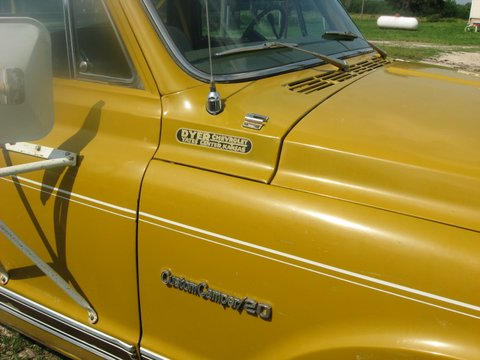 Air Intake Systems >> 1971 Chevy Camper Special C-20 - Chevrolet - Chevy Trucks ...