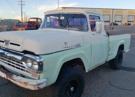 1960 Ford Ford F100 4x4 Ford Trucks For Sale Old