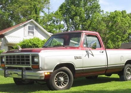 1985 dodge d 150 dodge trucks for sale old trucks antique trucks vintage trucks for sale. Black Bedroom Furniture Sets. Home Design Ideas