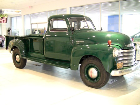 1949 Chevy 3800 Series Pickup Truck Chevrolet Chevy