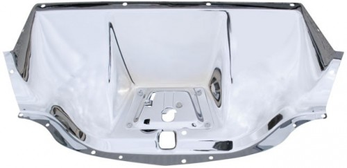 47 53 Chevy Truck Hood Latch Panel Chrome Body Parts