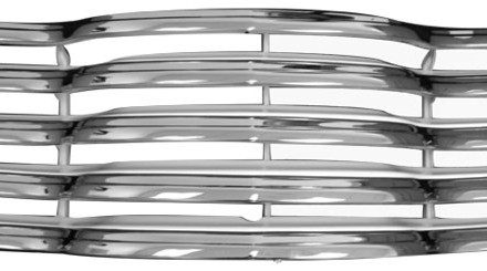 47 – 53 Chevy Truck Grille – Chrome and Painted White
