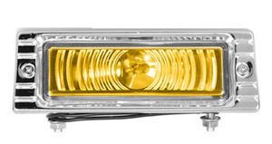 47 – 53 Chevy Truck Front Parking Light – Amber Lens – 12 Volt
