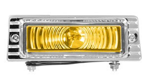 47 – 53 Chevy Truck Front Parking Light Assembly – Amber Lens – 12 Volt