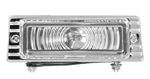 47 – 53 Chevy Truck Front Parking Light – Clear Lens – 12 Volt