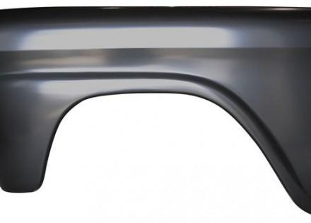 58 – 59 Chevy / GMC Truck Front Fender – LH – Steel