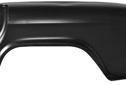 55 – 66 Chevy / GMC Truck Rear Fender – LH – Long Bed – Has Spare Tire Cut-out