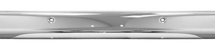 63 Chevy / GMC Truck Front Bumper – Chrome