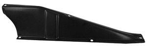 60 – 66  Chevy / GMC Truck Rear Support Upper Tie Bar Baffle – LH – Steel