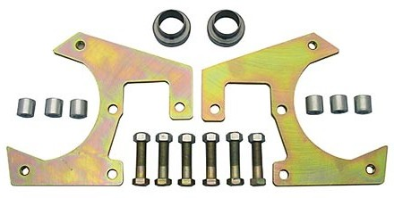 48-56 Ford CPP Front Disc Brake Bracket Kits – 5 on 4.75″ Chevy Wheel