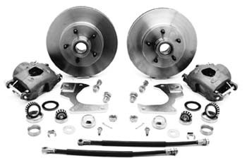 1960 – 1962 Chevy Truck Complete 5-Lug Disc Brake Conversion Kits – 5 on 4-3/4