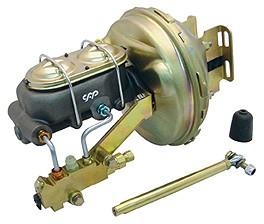 1963 – 1966 Chevy Truck Brake Booster & Master Cylinder Kit – Disc / Disc