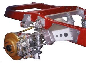 Late 55 – 59 Chevy Truck Rear 84-87 Corvette Suspension Installation Kit