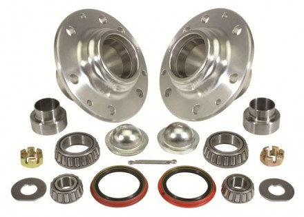 1947 – 1959 Chevy / GMC Truck  Kit Front Hub & Roller Bearing Kit – 6 on 5-1/2 Wheel – NO Studs Included