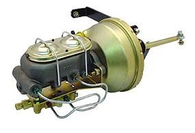 1955 – 1959 Brake Booster & Master Cylinder – Frame Mount – Disc/Drum Set-up