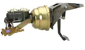 1953-56 Ford Firewall Mount Power Brake Booster – Drum/Drum