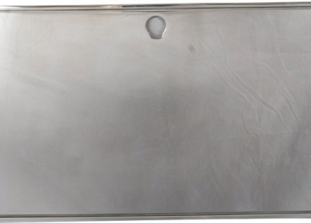 67-72 Chevy Polished Aluminum Glove Box Cover