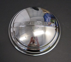 "48-56 Hub Caps – ""FORD""  – Stainless"
