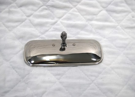 54 – 59 Chevy / GMC Truck Interior Rear View Mirror – Polished Stainless Steel
