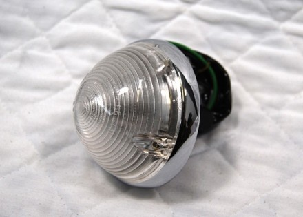 1955 – 1957 Chevy Truck Parking Light Assembly – Clear Lens