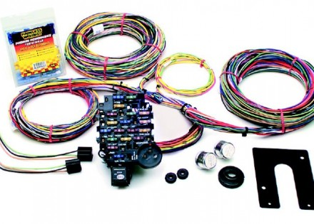 painless performance 18 circuit wiring harness for trucks – non-gm keyed  steering column