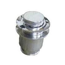 Pop-Up Fuel Filler & Gas Cap – Polished Billet Aluminum