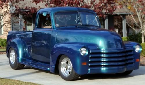 Custom Classic Trucks >> 1947 Chevy Truck-Custom Streetrod - Chevrolet - Chevy ...