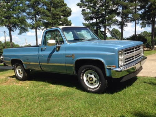 1986 chevy c20 chevrolet chevy trucks for sale old trucks antique trucks vintage trucks. Black Bedroom Furniture Sets. Home Design Ideas