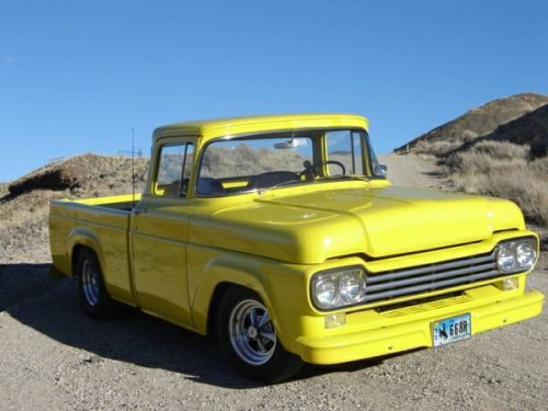Fuel Truck Wheels >> 1959 Ford F100 - Ford Trucks for Sale | Old Trucks ...
