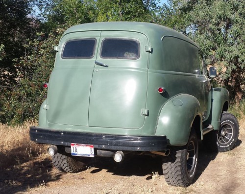 1954 Chevy 4X4 Panel - Chevrolet - Chevy Trucks for Sale ...