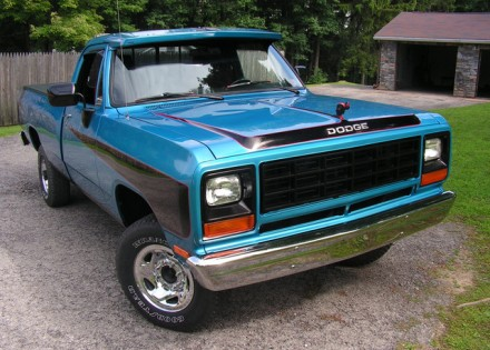 1982 Dodge W250 Ram