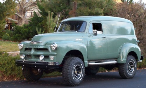 1954 Chevy 4x4 Panel Chevrolet Chevy Trucks For Sale
