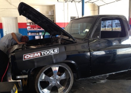 1984 Chevy C10 Short Bed