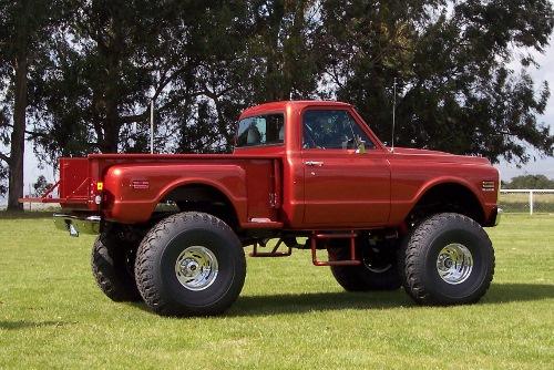 1972 Chevy K-10 Step Side - Chevrolet - Chevy Trucks for ...