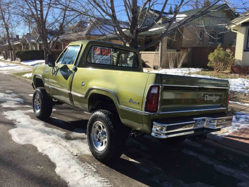 1974 Dodge Power Wagon W100 4x4 Dodge Trucks For Sale