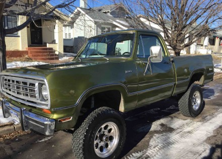 1974 Dodge Power Wagon W100 4×4