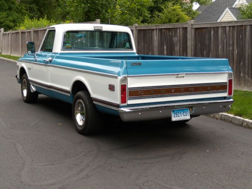 Fuel Truck Wheels >> 1972 Chevy Cheyenne - Chevrolet - Chevy Trucks for Sale ...