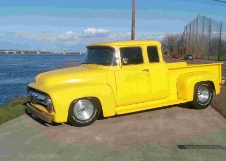 1956 ford f 100 custom 1 off extended cab ford trucks for sale old trucks antique trucks. Black Bedroom Furniture Sets. Home Design Ideas