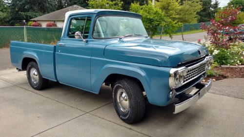 1958 Ford F100 Ford Trucks For Sale Old Trucks