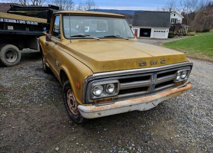 1971 GMC Sierra 1500 Step Side