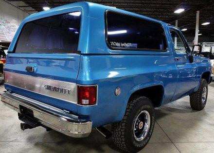 Restored Custom Chevy K5 Blazer 4×4
